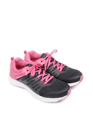 Navy Blue - Fuchsia - Sport - Shoes
