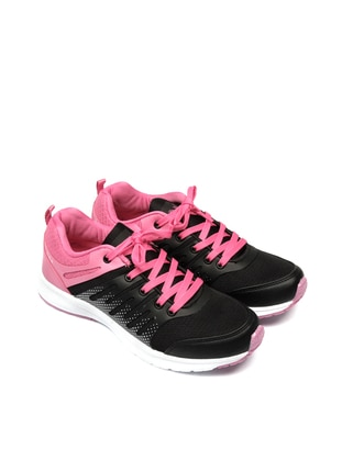 Black - Fuchsia - Sport - Shoes