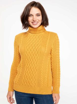 Yellow - Jumper - DeFacto