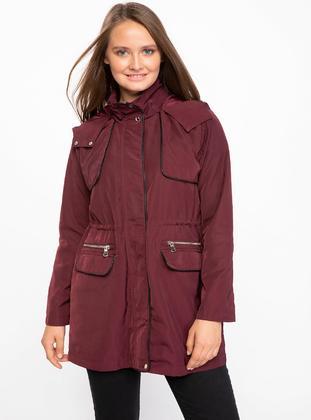 Maroon - Coat