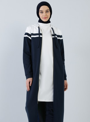 Ecru - Polo neck - Tunic