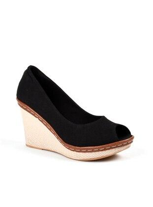 Sandalet - Siyah - 001 - Sapin Ürün Resmi