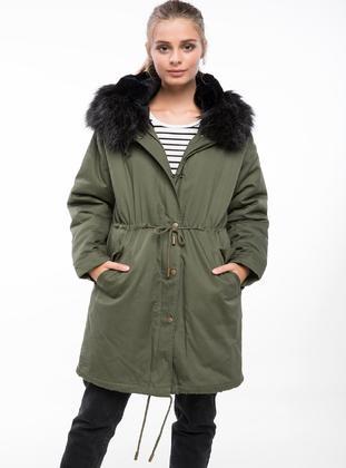 Green - Coat