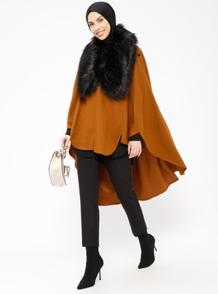 Mustard - Point Collar - Unlined - Poncho