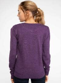 Purple - Jumper