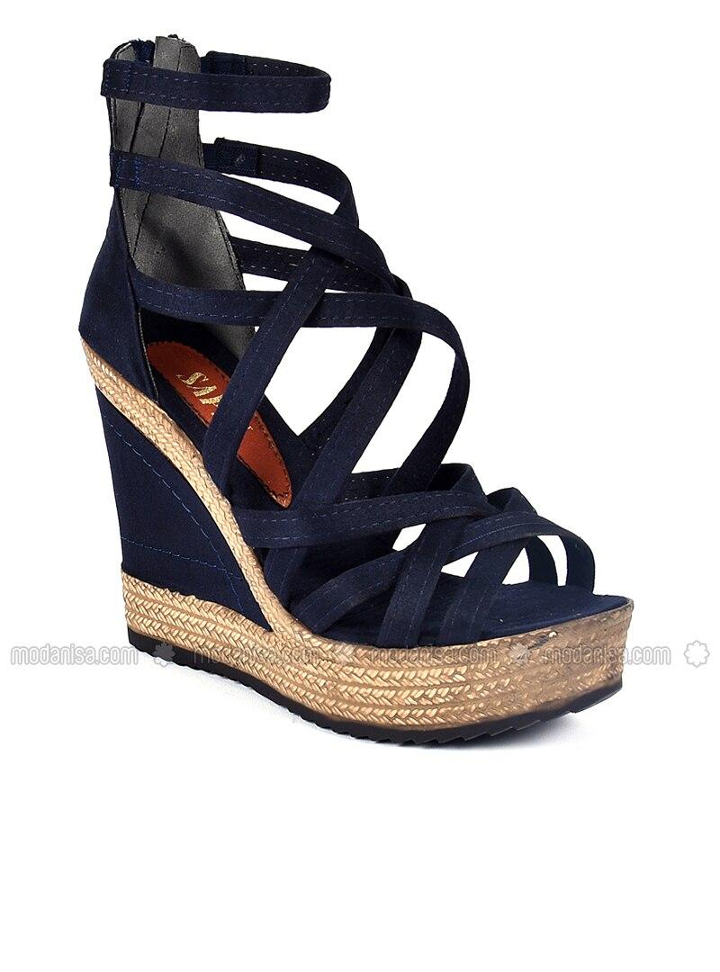 Sandale Sandales Bleu Bleu Chaussons Marine mO8wNnv0