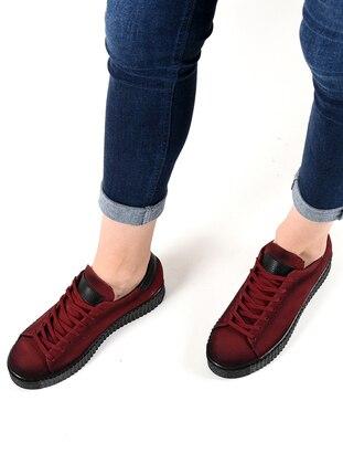 Spor Ayakkabı - Bordo suet - 203 - Sapin Ürün Resmi