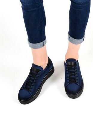 Spor Ayakkabı - Lacivert suet - 503 - Sapin Ürün Resmi