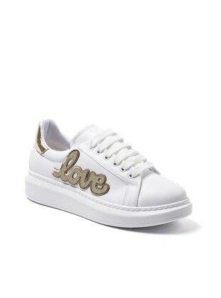 Spor Ayakkabı - Altın - Sapin Ürün Resmi