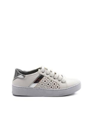 Spor Ayakkabı - Beyaz Gümüş - Sapin Ürün Resmi