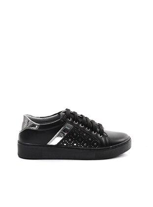 Spor Ayakkabı - Siyah Gümüş - Sapin Ürün Resmi