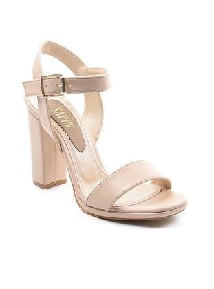 Topuklu Ayakkabı - Bej - Sapin Ürün Resmi