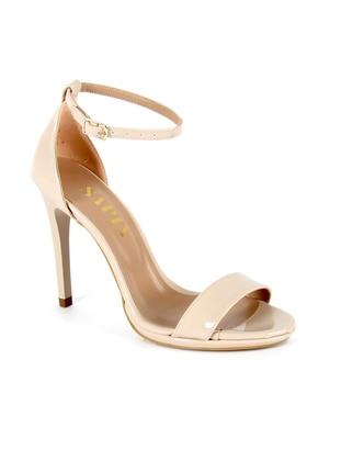Topuklu Ayakkabı - Bej Rugan - Sapin Ürün Resmi
