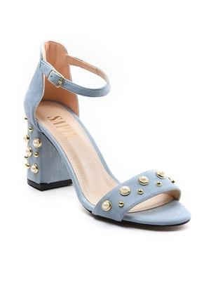 Topuklu Ayakkabı - Mavi - Sapin Ürün Resmi