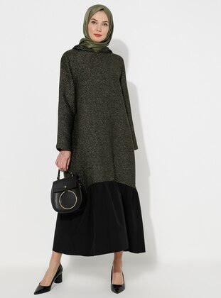 Green - Unlined -  - Dresses