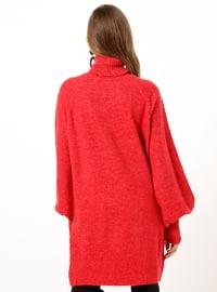 Coral - Polo neck - Acrylic -  - Tunic