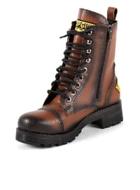 Tan - Boot - Boots