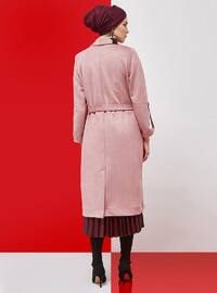 Powder - Fully Lined - Shawl Collar - Trench Coat