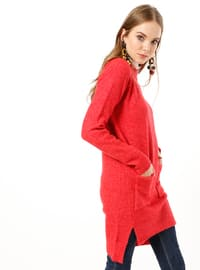 Coral - Polo neck - Acrylic -  - Tunic