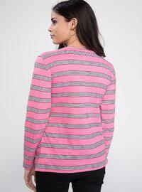 Pink - Maternity Blouses Shirts