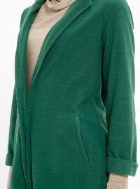Green - Cotton - Cardigan