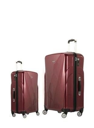 Orta&Kabin Boy Bavul Seti - Bordo - U.S. Polo Assn. Ürün Resmi