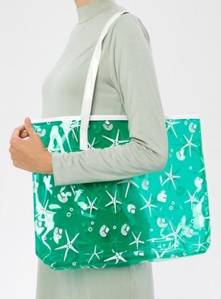 Green - Beach Bags - İdil Çanta