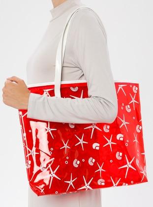 Red - Beach Bags - İdil Çanta