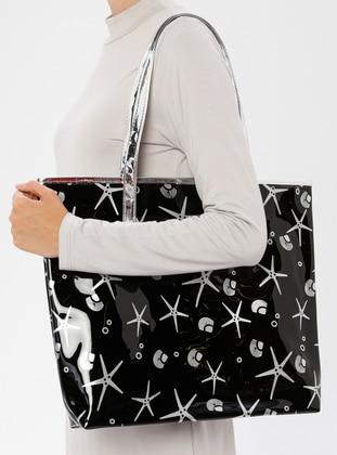 Black - Beach Bags - İdil Çanta