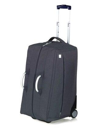 Lexon Lexon Airline Tekerlekli Seyahat Çantasi Kabin Boy - Siyah