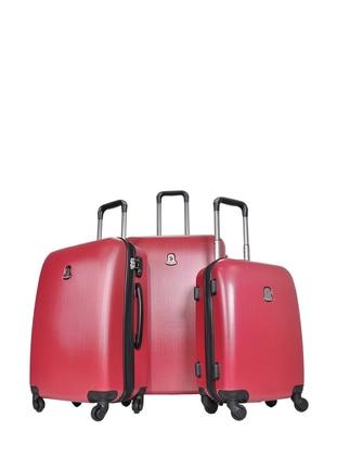 3`lü Bavul Seti - Kırmızı - U.S. Polo Assn. Ürün Resmi