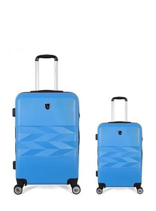 Büyük&Kabin Boy Bavul - Mavi - U.S. Polo Assn. Ürün Resmi