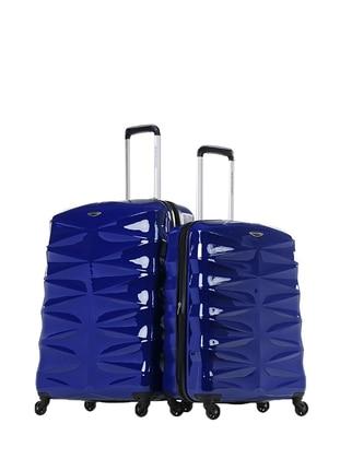 NK Büyük&Orta Boy Bavul Seti - Lacivert