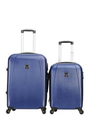 Orta&Kabin Boy Bavul Seti - Lacivert - Fossil Ürün Resmi