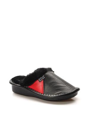 Red - Black - Sandal - Slippers