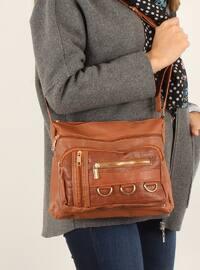 Tan - Shoulder Bags - Luwwe