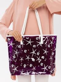 Purple - Beach Bags