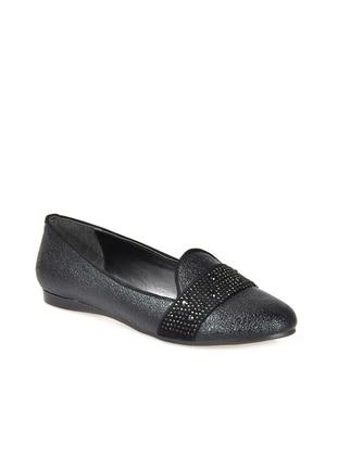 Vizon Babet - Siyah Kroko