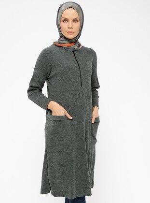 d10053923099a CML Collection, CML Collection Büyük Beden Elbise - Modanisa