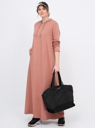 Powder - Dusty Rose - Unlined - Plus Size Dress