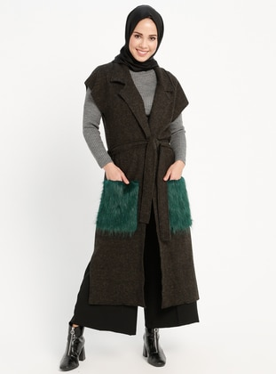 Green - Unlined -  - Vest