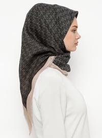 Multi - Printed - Wool Blend - Scarf