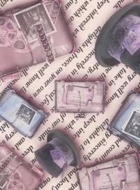 Dusty Rose - Printed - Digital Printing - Scarf