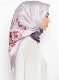 Lilac - Digital Printing - Scarf