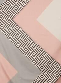 Powder - Printed - Digital Printing - Scarf
