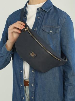 Navy Blue - Clutch - Bum Bag - Pierre Cardin