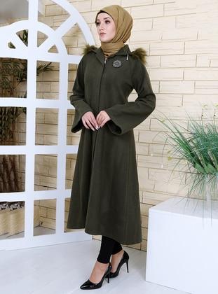 Khaki - Unlined - Coat