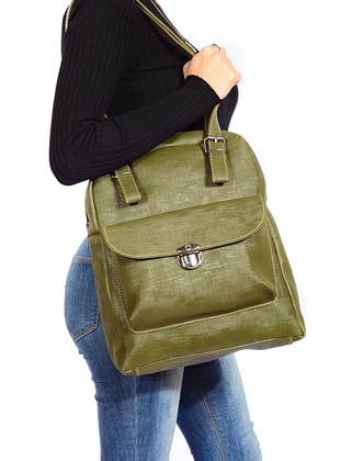 Vip moda Sırt Çantası - Yeşil