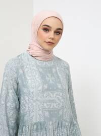 Green Almond - Ethnic - Crew neck - Cotton - Tunic
