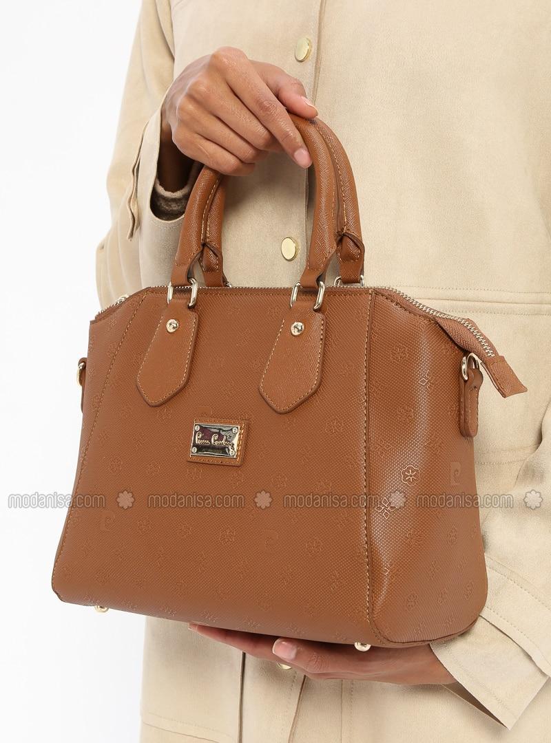 Tan - Shoulder Bags - Pierre Cardin